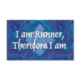 TOP I Am Runner 22x14 Wall Peel