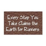 TOP Run Earth Wall Sticker