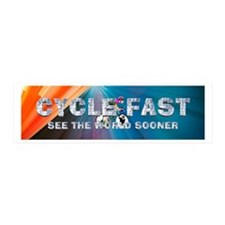 TOP Cycle Fast Wall Decal
