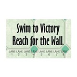 TOP Swim Slogan Wall Decal