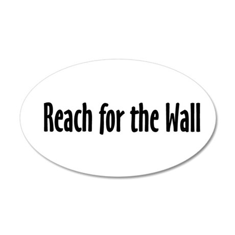 Swim Slogan Teepossible.com 20x12 Oval Wall Decal