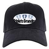 Triplets Grandpa (Boys) Baseball Hat