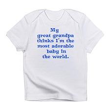 Great grandpa loves me Infant T-Shirt