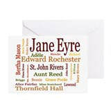 Jane Eyre Characters Greeting Cards (Pk of 20)