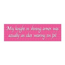 Knight in Shining Armor Wall Decal
