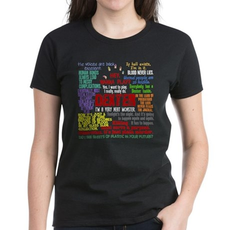 Best Dexter Quotes Women's Dark T-Shirt