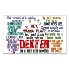 Best Dexter Quotes Stickers
