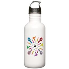 Getting Ready Mandala Water Bottle