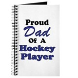 Dad Hockey Player Journal
