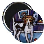 AMERICAN FOXHOUND smiling moo 2.25