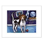 AMERICAN FOXHOUND smiling moo Small Poster