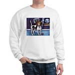 AMERICAN FOXHOUND smiling moo Sweatshirt