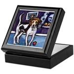 AMERICAN FOXHOUND smiling moo Keepsake Box