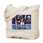 AMERICAN FOXHOUND smiling moo Tote Bag