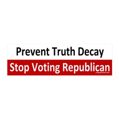 Prevent Truth Decay GOP 20x6 Wall Peel Decal