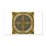Celtic Compass 22x14 Wall Peel