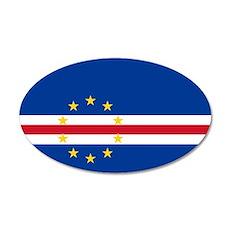 Cape Verde 22x14 Oval Wall Peel