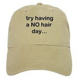 NO Hair Baseball Cap