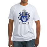 Sansoni Family Crest  Fitted T-Shirt