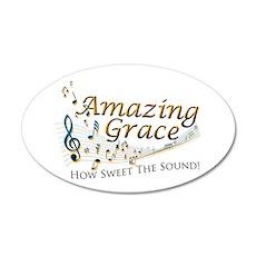 Amazing Grace 22x14 Oval Wall Peel