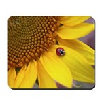 Ladybugs on Flowers Mousepad