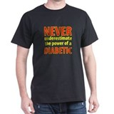 Never Underestimate Black T-Shirt