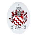 Salviati Coat of Arms Oval Ornament