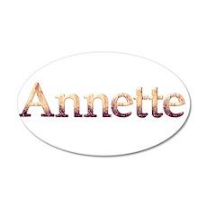 Annette 38.5 x 24.5 Oval Wall Peel