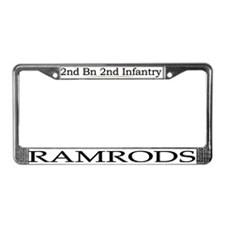 2nd Bn 2nd Infantry License Plate Frame