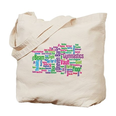 Gymnastics Jargon Tote Bag