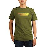 Sonic Boom Organic Men's T-Shirt (dark)