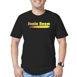 Sonic Boom Men's Fitted T-Shirt (dark)