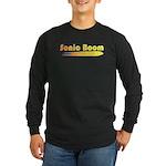 Sonic Boom Long Sleeve Dark T-Shirt