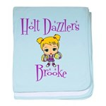 Holt Dazzlers baby blanket