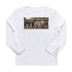 Big Butts Long Sleeve Infant T-Shirt