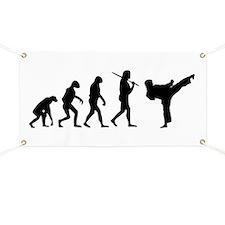 The Evolution Of Karate Banner