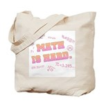 Math is Hard Tote Bag