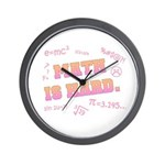 Math is Hard Wall Clock