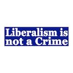 Liberalism is Not a Crime peel & stick wall de
