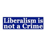 Liberalism is Not a Crime peel & stick wall de
