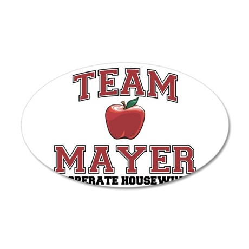 Team Mayer 38.5 x 24.5 Oval Wall Peel