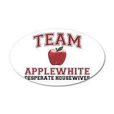 Team Applewhite 38.5 x 24.5 Oval Wall Peel