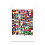 Parade of Nations 22x14 Wall Peel