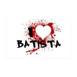 I Heart Batista 38.5 x 24.5 Wall Peel