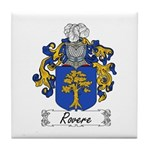 Rovere Coat of Arms Tile Coaster