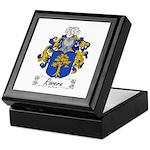 Rovere Coat of Arms Keepsake Box