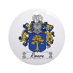 Rovere Coat of Arms Ornament (Round)