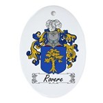 Rovere Coat of Arms Oval Ornament