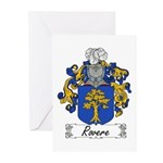 Rovere Coat of Arms Greeting Cards (Pk of 10)
