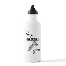 Funny Anti hamas Water Bottle